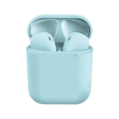 Auriculares Bluetooth InPods 12 c/Caixa de Carregamento Azul Claro