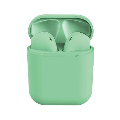Auriculares Bluetooth InPods 12 c/Caixa de Carregamento Verde