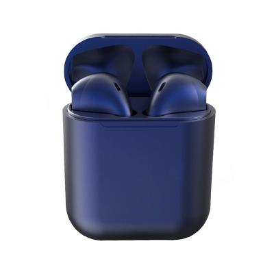 Auriculares Bluetooth InPods 12 c/Caixa de Carregamento Azul Escuro