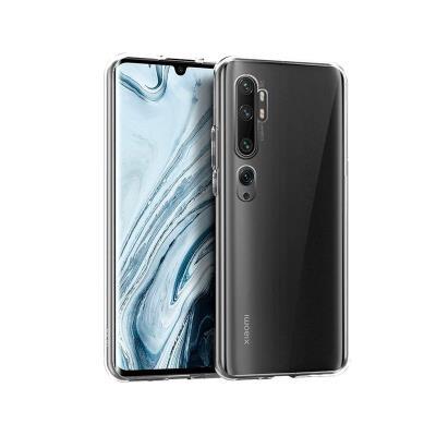 Capa Silicone Xiaomi Mi Note 10/Note 10 Pro Transparente