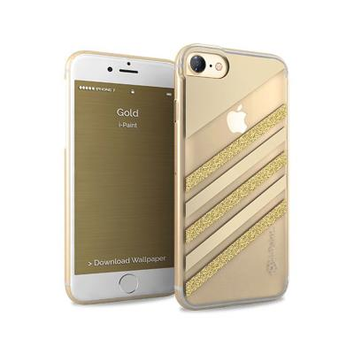 Protective Glamour Cover i-Paint iPhone 7/8 Gold