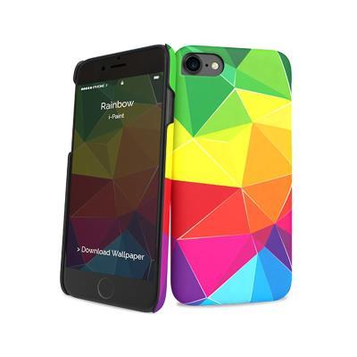 Capa Proteção i-Paint iPhone 7/8 Glamour Arco-Íris