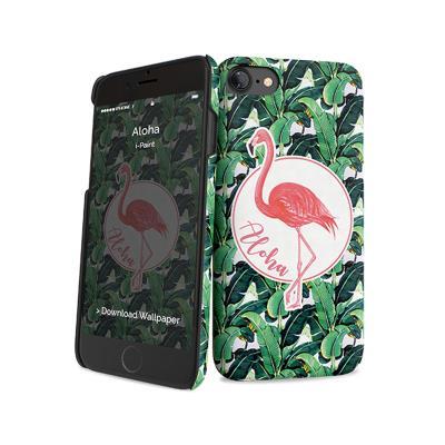 Capa Proteção i-Paint iPhone 7/8 Glamour Aloha