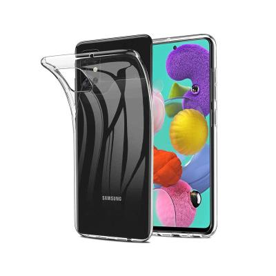 Silicone Case Samsung Galaxy A51 A515 Transparent