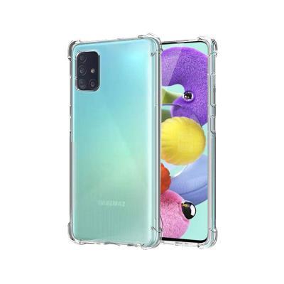Capa Silicone Anti-Choque Roar Samsung Galaxy A51 A515  Transparente