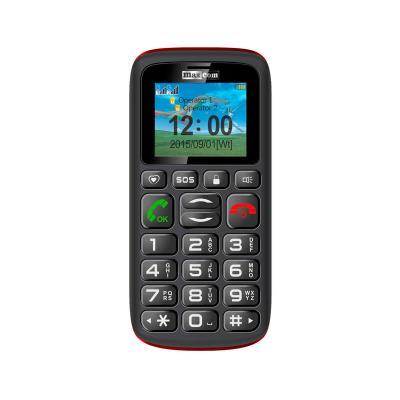 Telemóvel Maxcom MM428 Dual SIM Vermelho/ Preto