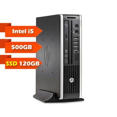Computador Torre HP Compaq 8200 Elite USDT i5-2400S SSD 120GB+500GB/4GB Recondicionado