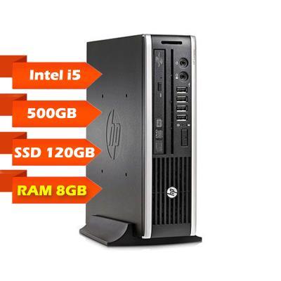Computador Torre HP Compaq 8200 Elite USDT i5-2400S SSD 120GB+500GB/8GB Recondicionado