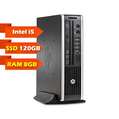 Computador Torre HP Compaq 8200 Elite USDT i5-2400S SSD 120GB/8GB Recondicionado