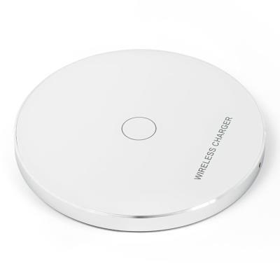 Carregador Wireless Carregamento Rápido 10W KD01 Branco