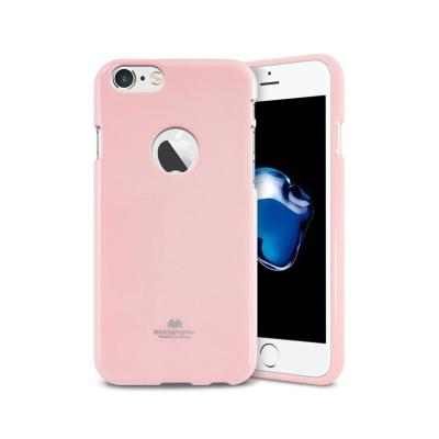 Capa Silicone Jelly Mercury iPhone 7/8 Rosa