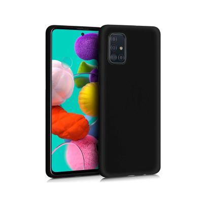 Silicone Cover Samsung Galaxy A51 A515 Black