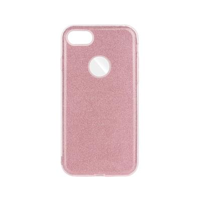 Capa Silicone Forcell iPhone 7/8 Shining Rosa