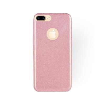 Silicone Shining Cover Forcell iPhone 7/8 Plus Pink