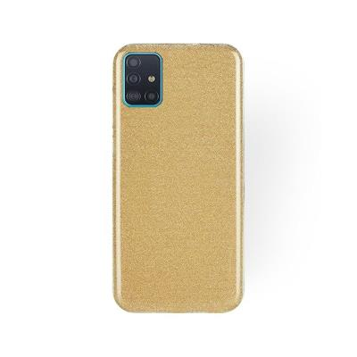 Silicone Shining Cover Forcell Samsung Galaxy A51 A515 Gold