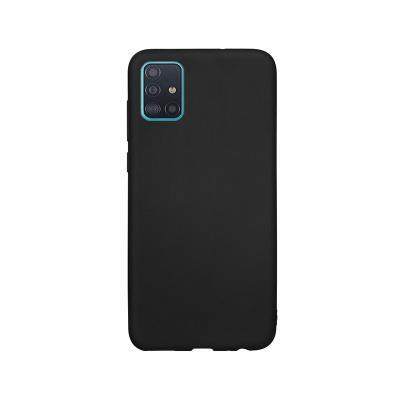 Funda Silicona Premium Samsung Galaxy A51 A515 Negra