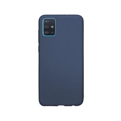 Capa Silicone Premium Samsung Galaxy A51 A515 Azul