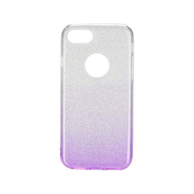 Capa Silicone Brilhantes iPhone 7/8 Violeta