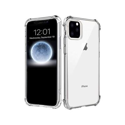 Capa Silicone Anti-Choque Roar iPhone 11 Pro Max Transparente