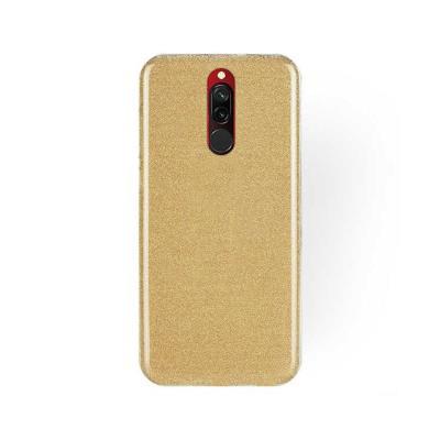 Capa Silicone Forcell Xiaomi Redmi 8/8A Shining Dourada