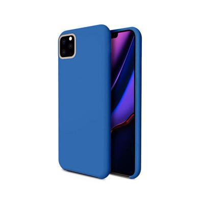Funda Silicona Premium iPhone 11 Pro Azul Turquesa