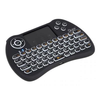 Teclado Sem Fios Quer c/TouchPad Preto