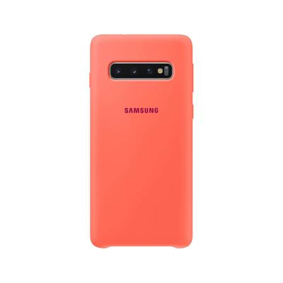Silicone Cover Original Samsung Galaxy S10 Coral (EF-PG973THE)