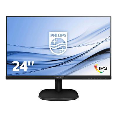 Monitor Philips 24'' FHD 243V7QDSB/00 Black
