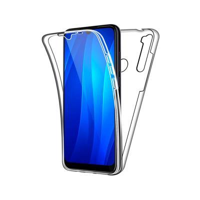 Capa Silicone Frente e Verso Xiaomi Redmi Note 8T Transparente