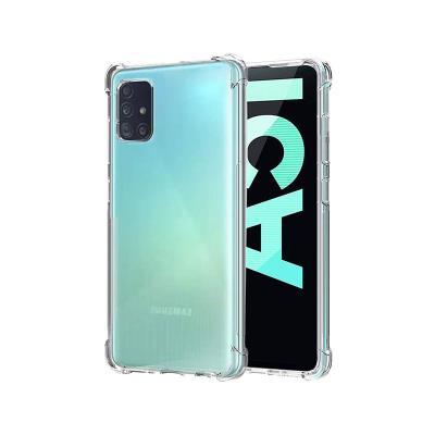 Capa Silicone Reforçada Samsung Galaxy A51 A515 Transparente