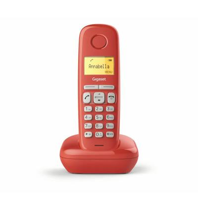 Cordless Phone Siemens Gigaset A170 Red