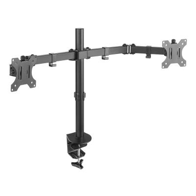Table Stand for 2 Monitors/TV 13''-32'' Tooq (DB1232TN-B)