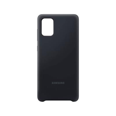 Silicone Cover Original Samsung Galaxy A71 Black (EF-PA715TBE)