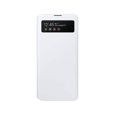 Capa S View Wallet Original Samsung Galaxy A51 Branca (EF-EA515PWE)
