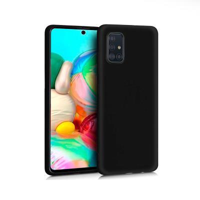Silicone Cover Samsung Galaxy A71 A715 Black