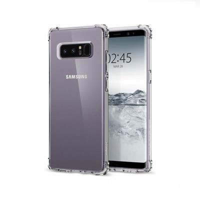 Anti-Shock Silicone Cover Roar Samsung Galaxy Note 8 N950 Transparent