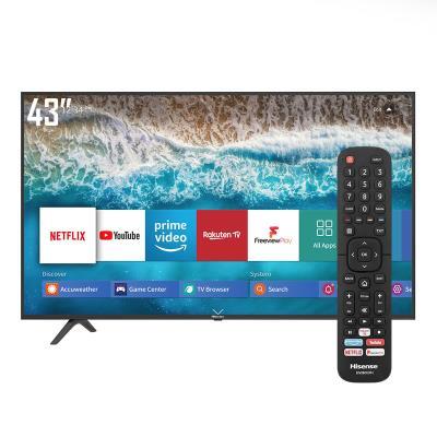 TV Hisense 43'' UHD 4K HDR SmartTV HDMI/USB Black (43B7100)