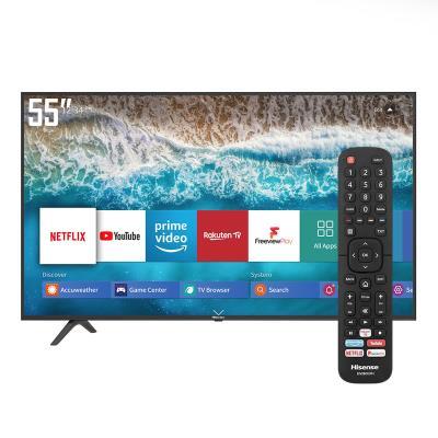 TV Hisense 55'' UHD 4K HDR SmartTV HDMI/USB Preta (55B7100)