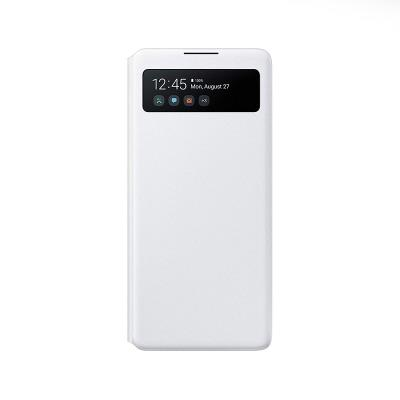 Capa S-View Wallet Original Samsung Galaxy S10 Lite Branca (EF-EG770PWE)
