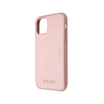 Cover Guess Saffiano iPhone 11 Pink