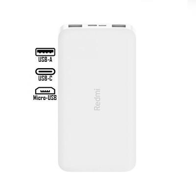 PowerBank Xiaomi Redmi 10000mAh Branca