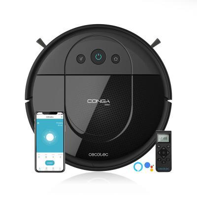 Robot Vacuum Cleaner Cecotec Conga Serie 1690 Pro Black