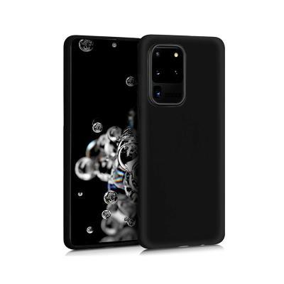 Silicone Cover Samsung Galaxy S20 Ultra G988 Black