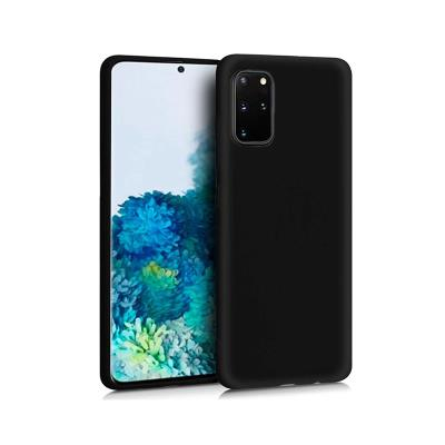 Silicone Cover Samsung Galaxy S20 Plus G985 Black