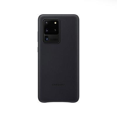 Capa de Pele Original Samsung Galaxy S20 Ultra Preta (EF-VG988LBE)