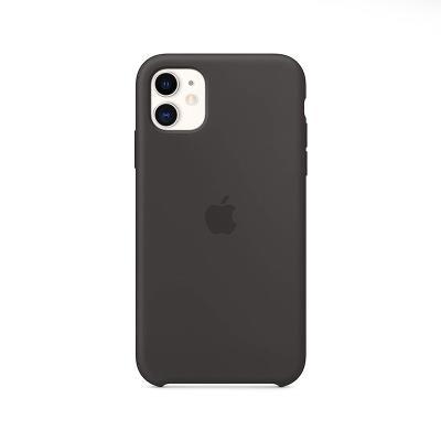 Funda Silicona Original Apple iPhone 11 Negra (MWVU2ZM/A)