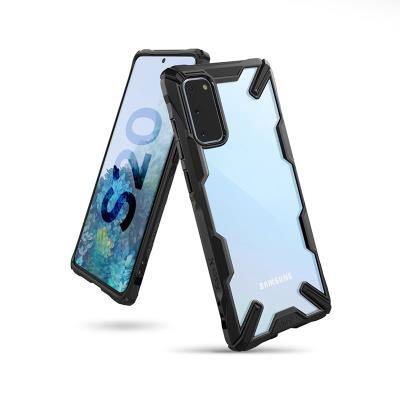 Capa Proteção Fusion X Samsung Galaxy S20 G980 Preta