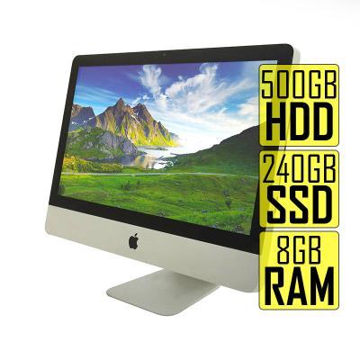 """iMac A1311 21.5"""" i5 2.5GHz SSD 240GB+500GB/8GB Refurbished"""