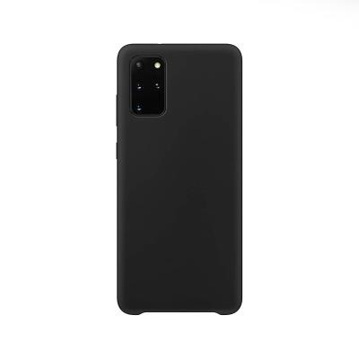 Capa Silicone Premium Samsung Galaxy S20 Plus G985 Preta