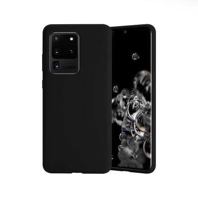 Capa Silicone Premium Samsung Galaxy S20 Ultra G988 Preta